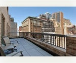 1 Bedroom with 300 SF Terrace at Greenwich Club Residences,Steps from Wall st,Stuck Market,World trade center,Trinity Church